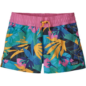Patagonia Costa Rica Baggies Shorts Girls the cotton wild/light beryl green